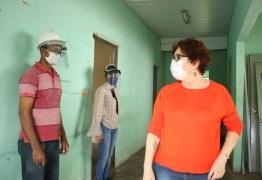 Prefeita Márcia Lucena assina ordem de serviço para Centro de Enfrentamento à Covid-1