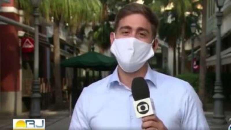 BB15oIdu - Repórter da Globo se declara ao marido ao vivo e internautas comemoram