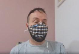 Pneumonia e suspeita de inflamação no coração: Eduardo Varandas revela que está com coronavírus – VEJA VÍDEO