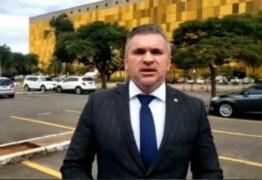 Julian Lemos comemora êxito de operação policial que impediu assalto em agência bancária de Areia – VEJA VÍDEO