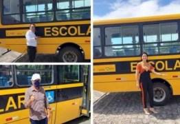 Municípios do Brejo Paraibano são contemplados com ônibus escolares através de emendas do deputado Tião Gomes
