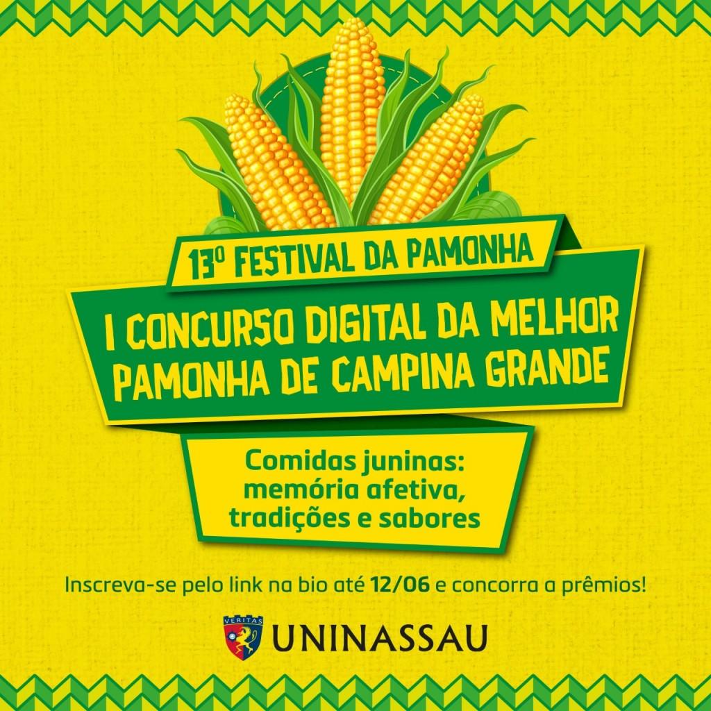 Festival da Pamonha - Concurso digital elegerá a melhor pamonha de Campina Grande
