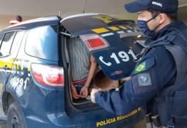 PRF prende jovem que derrubou idoso no chão e roubou R$ 280, na Paraíba