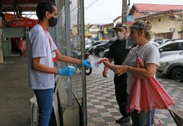 Governo da Paraíba distribuirá máscaras reutilizáveis em filas de bancos no Sertão