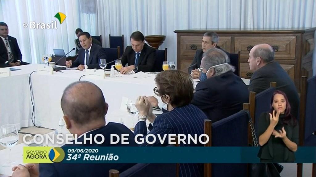 WhatsApp Image 2020 06 09 at 09.32.12 1024x575 - CONSELHO DE GOVERNO: Bolsonaro faz nova reunião ministerial nesta terça-feira - VEJA VÍDEO