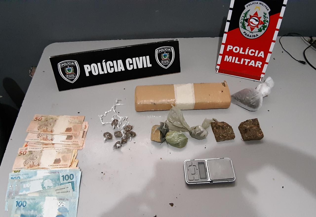 WhatsApp Image 2020 06 16 at 11.41.40 - Polícias Civil e Militar realizam operação de combate ao tráfico de drogas e prendem cinco pessoas, na Paraíba