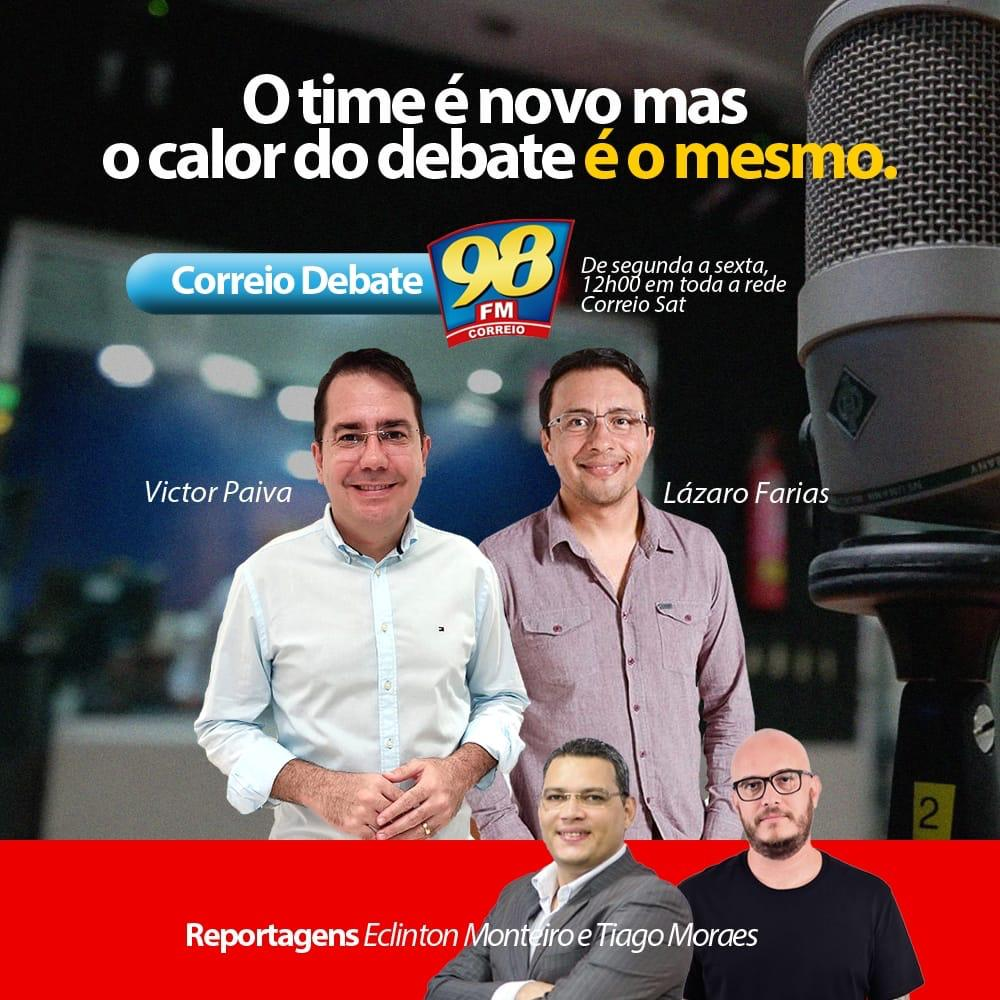WhatsApp Image 2020 06 26 at 19.52.40 - Time novo: Rádio Correio anuncia nomes dos substitutos de Nilvan Ferreira e João Costa; confira