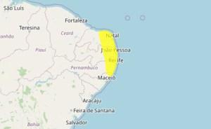 alerta inmet 300x184 - Inmet alerta para perigo potencial de acumulado de chuva em 91 cidades da Paraíba