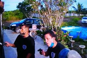 assalto cruz do espirito santo - Usando fardas da Polícia Civil bandidos assaltam casa na zona rural de Cruz do Espírito Santo