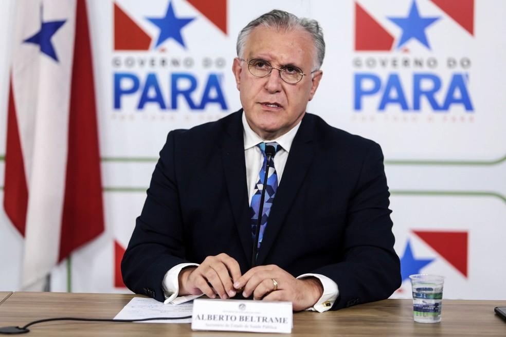 beltrame - Dados da Covid são de propriedade do povo, diz presidente do Conselho Nacional de Secretários