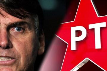 bolsonaro pt - Após vazamento de dados, Bolsonaro, filhos, ministros e deputados são filiados ao PT