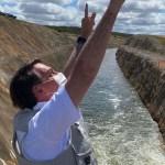 bolsonaro inaugura obras do sf - 'MAIS A CAMINHO': Bolsonaro usa redes sociais para citar obras federais na Paraíba