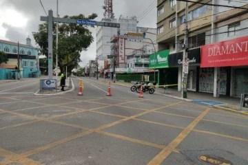 campina grande vazia - Relatório da STTP aponta redução de veículos no Centro de Campina Grande
