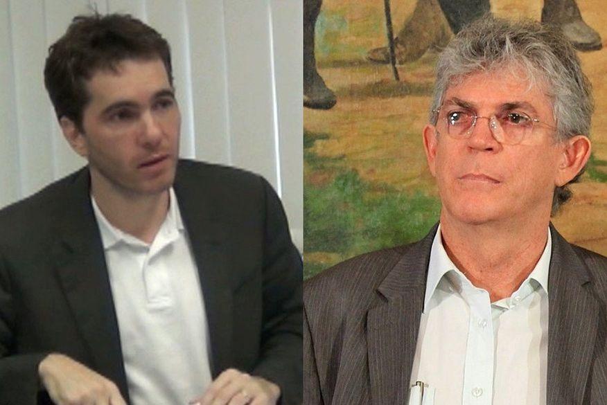daniel   ricardo coutinho   calvario - 'JOGO DA MENTIRA': Ricardo Coutinho diz que é vítima de suposta 'articulação' por ter defendido Lula e que Daniel Gomes seria 'espião' de investigadores; VEJA VÍDEO