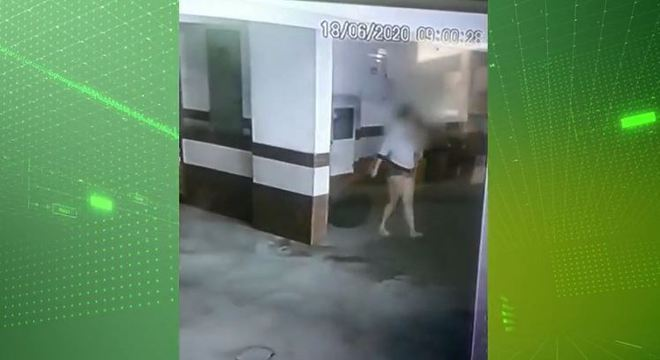 familia sai com mala 20062020100905624 - Laudo aponta que bebê jogado pela mãe de janela morreu por asfixia