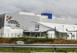 Se casos de Covid-19 continuarem caindo, Hospital de Campanha em Santa Rita pode ser desativado em 30 dias, afirma João Azevêdo