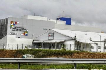 hospital solidario - Se casos de Covid-19 continuarem caindo, Hospital de Campanha em Santa Rita pode ser desativado em 30 dias, afirma João Azevêdo