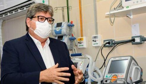 leitos uti - Número de leitos abertos na Paraíba para combate ao novo Coronavírus já supera a recomendação da OMS, destaca João Azevêdo