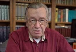 Randolfe pede investigação da PGR sobre Olavo de Carvalho