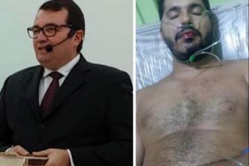 pastor e vitima - Pastor Evangélico é preso acusado de tentativa de homicídio em Mari; prisão foi efetuada durante fuga