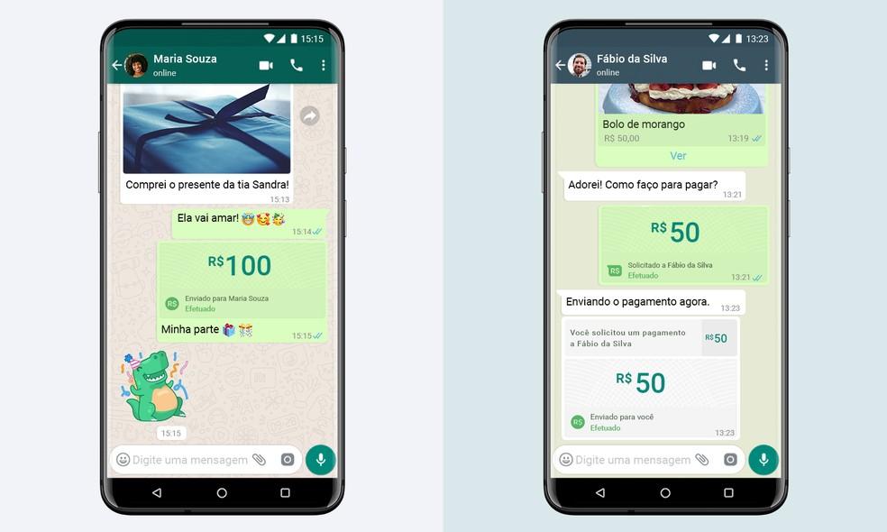 portuguese br blog static payments rev2 - WhatsApp vai permitir enviar e receber dinheiro pelo app; Brasil estreará função