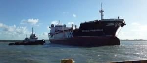 stena premium 300x128 - Navio Stena Premium desatraca após 39 dias de quarentena