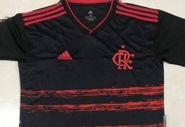 Suposta nova terceira camisa do Flamengo vaza na web