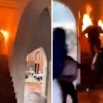 xblog fire us.jpg.pagespeed.ic .G2QnHhKvk9 - Manifestante se incendeia acidentalmente durante protesto contra a morte de George Floyd