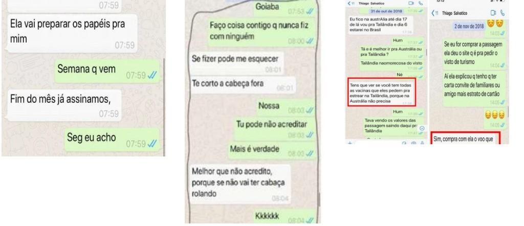 1 1 - POLÊMICA: Vaza conversa do suposto namorado de Gugu Liberato com direito a nudes
