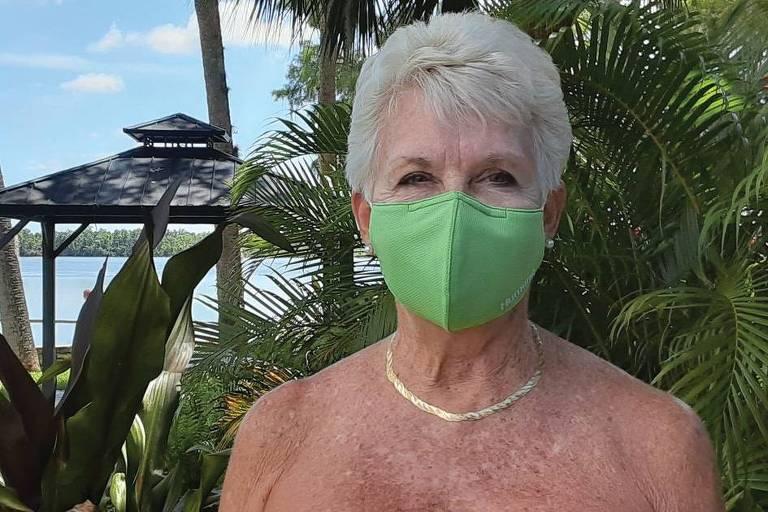 Resorts de nudismo se adaptam à pandemia e pedem uso de um item: máscaras