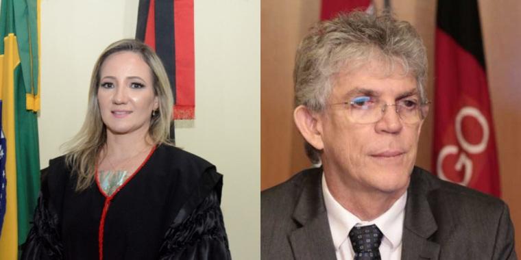 1595424164767324 - Juiza recebe denúncia contra o ex-governador da Paraíba Ricardo Coutinho - LEIA O DOCUMENTO