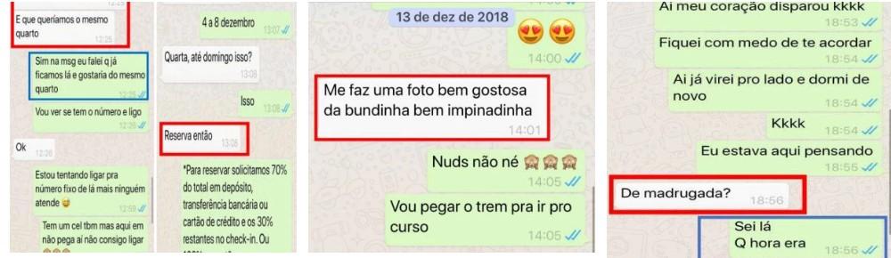 3 - POLÊMICA: Vaza conversa do suposto namorado de Gugu Liberato com direito a nudes