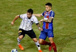 ELIMINADO: Bahia vence Botafogo-PB por 3 x 1 e time paraibano é desclassificado na Copa do Nordeste