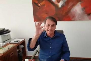 Com coronavírus, Bolsonaro toma hidroxicloroquina e diz que confia na medicação – VEJA VÍDEO