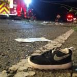 Capturar 19 - PERIGO: Mulheres e criança ficam feridas após serem atropeladas na Perimetral Sul, em João Pessoa