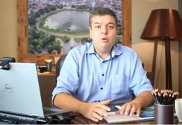 Pré-candidato em JP, Diego Tavares lança multiplataforma de diálogos e idéias para Capital; VEJA VÍDEO