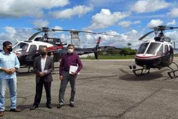 HELICÓPTEROS - Operações policiais com uso de helicópteros serão intensificadas na Paraíba, diz secretário