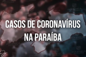 Paraíba confirma 1.270 novos casos de Covid-19 em 24h; total de mortes chega a 1.196