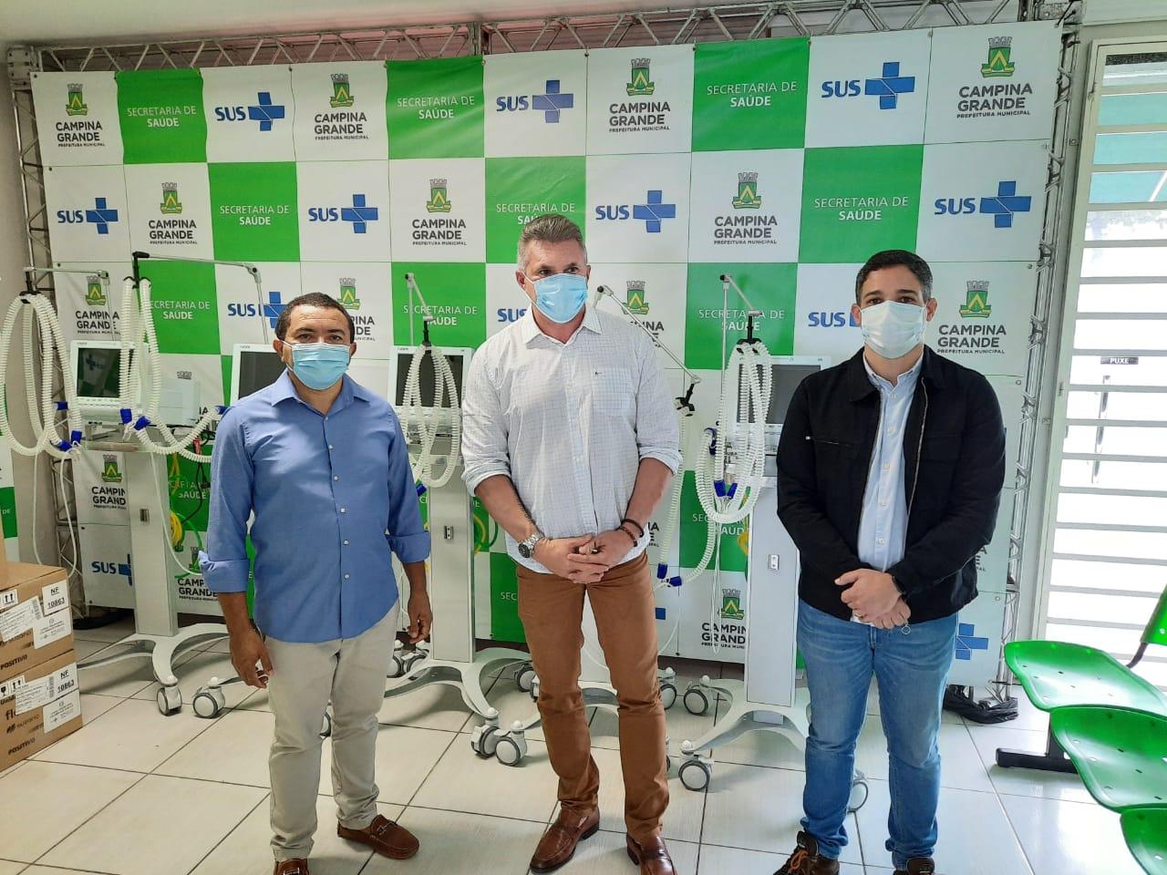 WhatsApp Image 2020 07 06 at 20.28.14 - Julian Lemos faz entrega de 10 respiradores para tratamento da COVID-19, em Campina Grande - VEJA VÍDEO