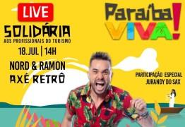 PARAÍBA VIVA!: Rede Nord Hotéis promove live solidária em prol dos profissionais de turismo