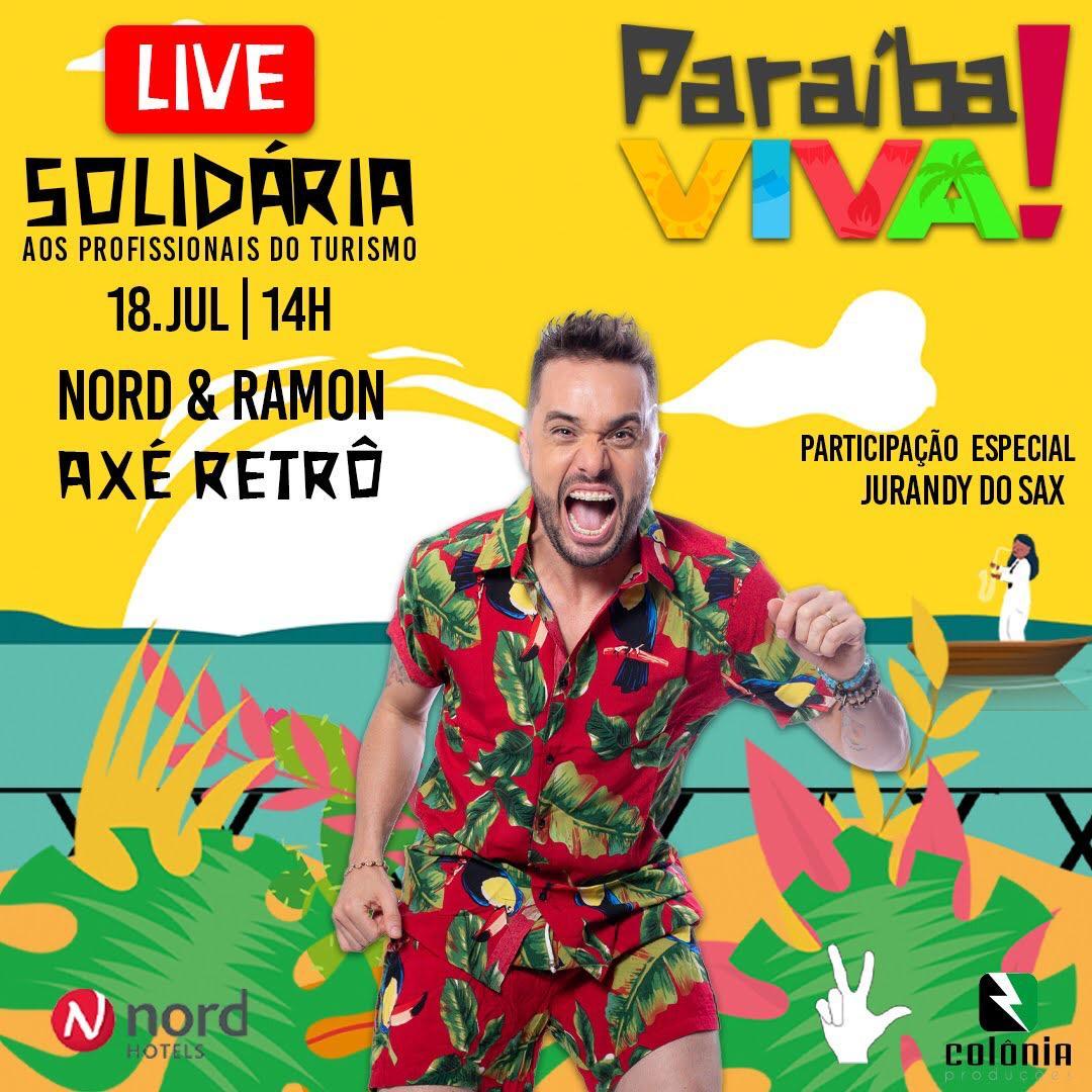 WhatsApp Image 2020 07 08 at 19.58.48 - PARAÍBA VIVA!: Rede Nord Hotéis promove live solidária em prol dos profissionais de turismo