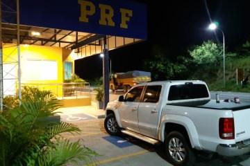 WhatsApp Image 2020 07 15 at 15.27.37 - Caminhonete roubada há uma semana em Pernambuco foi recuperada pela PRF na Paraíba