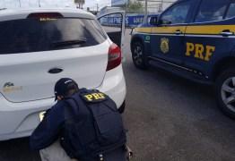 PRF recupera em 30 minutos três veículos roubados e clonados em ocorrências diferentes na Paraíba