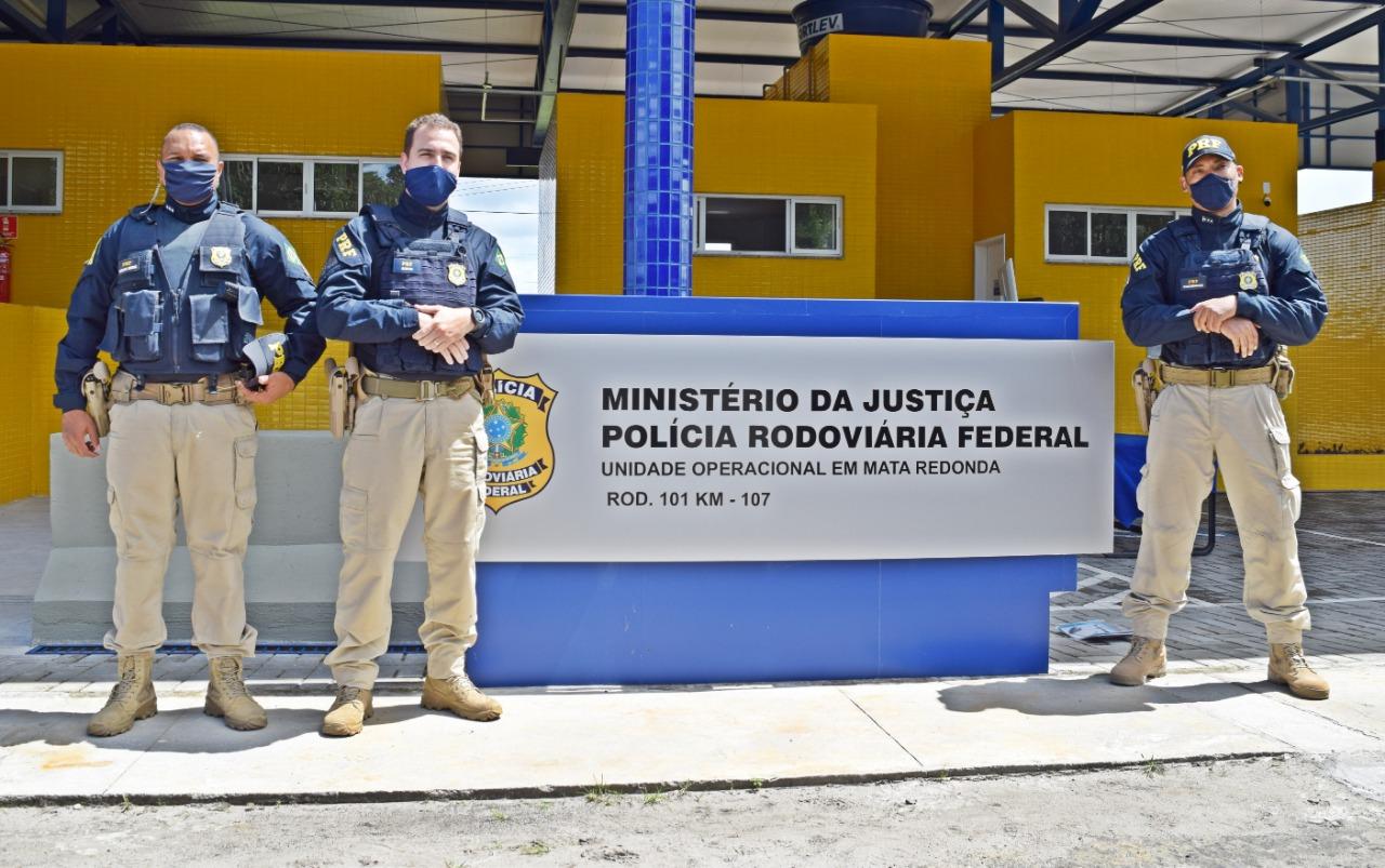 WhatsApp Image 2020 07 29 at 10.07.17 - PRF inaugura nova Unidade Operacional em Alhandra, na Paraíba