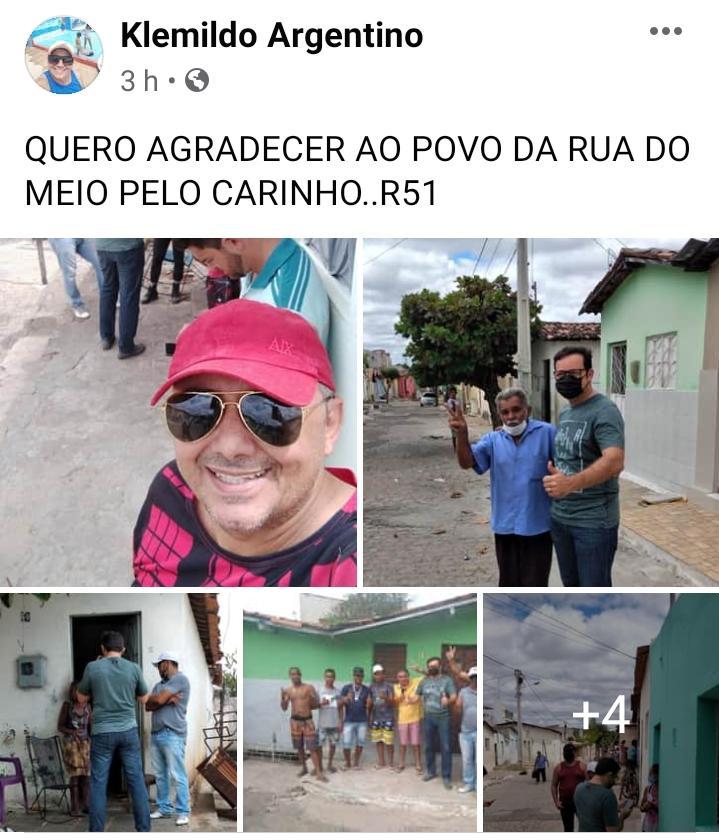 WhatsApp Image 2020 07 29 at 19.11.41 - Pré-candidato a prefeito de Patos, Dr. Ramonilson, faz campanha antecipada com direito a aglomeração e bebida alcoólica - VEJA IMAGENS