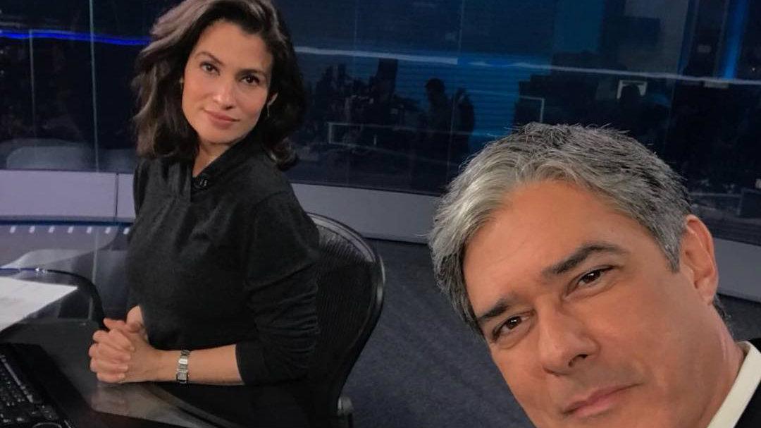 bonner e renata - Telespectadora acusa Globo de causar pânico na pandemia e processa emissora
