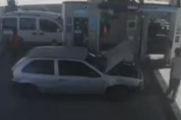 carro - Carro a gás natural explode durante abastecimento, no Rio Grande do Norte - VEJA VÍDEO