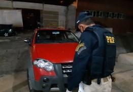 Foragido da justiça é preso pela PRF na Paraíba com veículo roubado