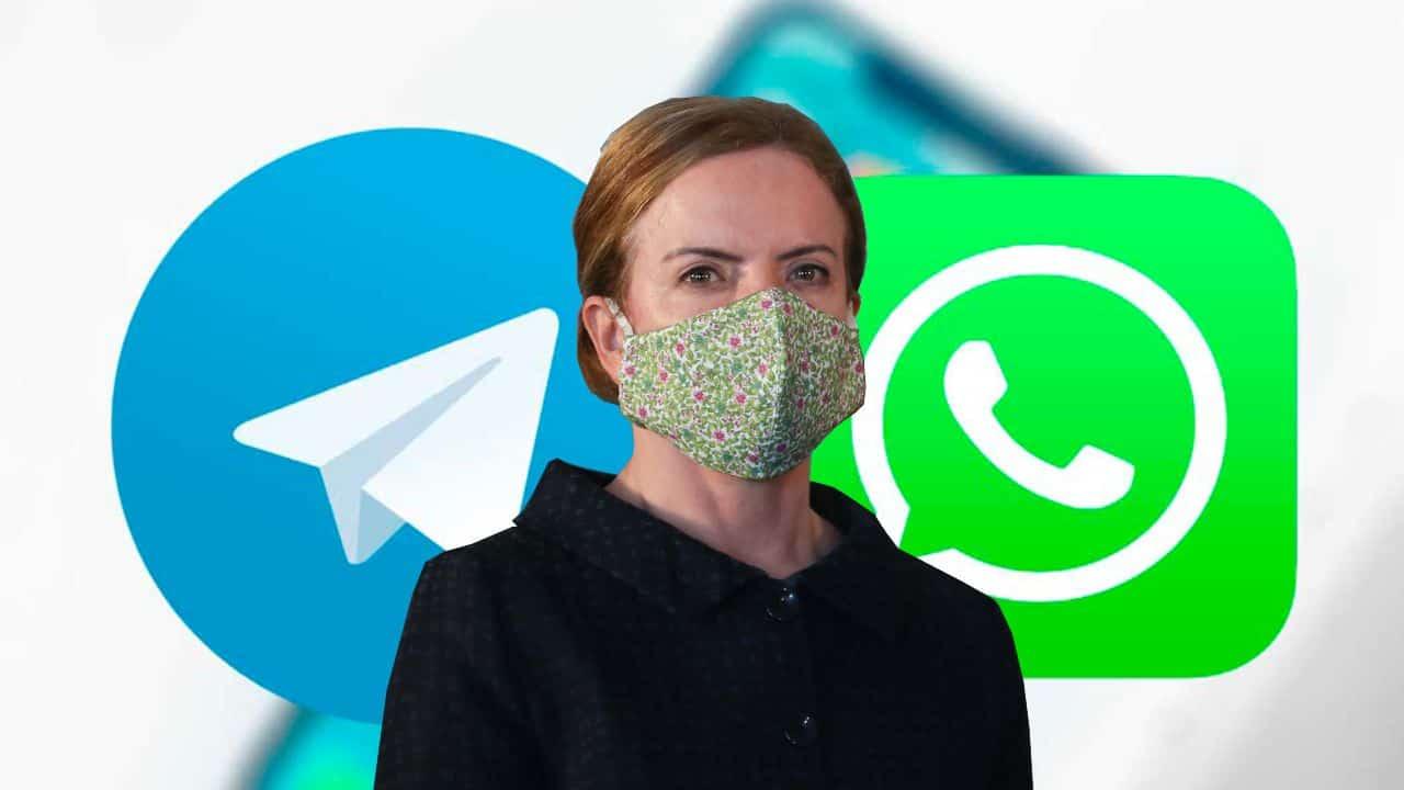 gleisi whatsapp telegram censura - PT tem contas no WhatsApp desativadas sob acusação de spam político