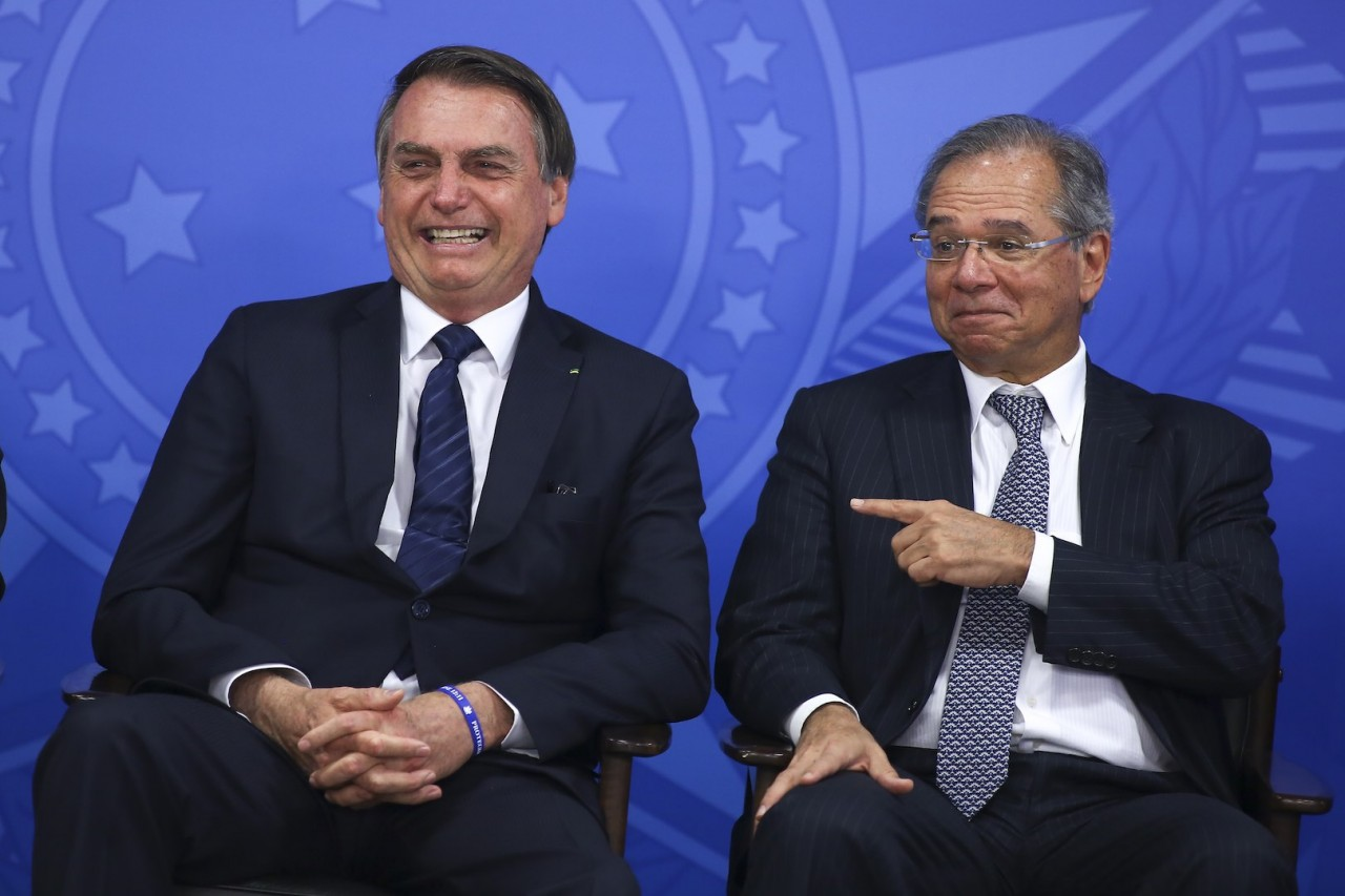 jair.bolsonaro.paulo .guedes.16.jul .2019.sergio.lima  - Pior em 24 anos: Contas do Governo Federal têm rombo de R$ 417 bilhões